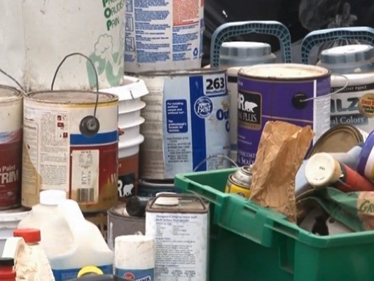 Saline Co. takes in household hazardous waste